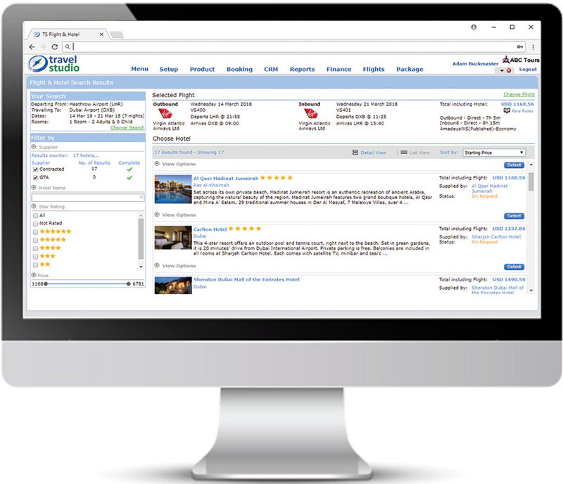 travel studio - ERP Reservations Software